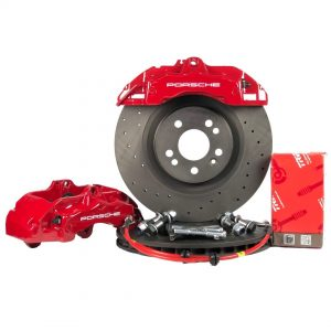 Big brake kit front Audi S4 B5 (w refurbished calipers) Brembo Z18 6 pots 345mm