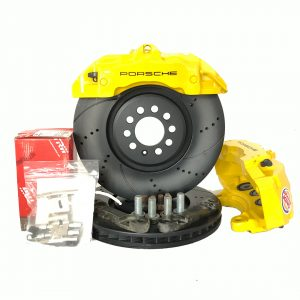 Big Brake kit front VW TT Bora Beetle Golf 4 Audi A3 8L Seat Leon 1M (w refurbished calipers) Brembo Z18 6 pots 334mm