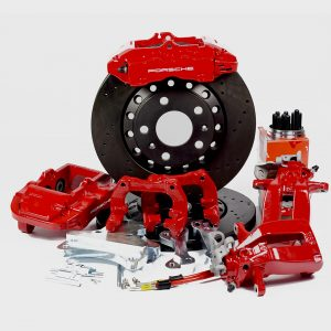 Big brake kit rear VW Golf 4 Bora Polo 6R Audi A3 8L TT 8N Sea Leon FWD (w refurbished 4 pot calipers) Brembo FWD