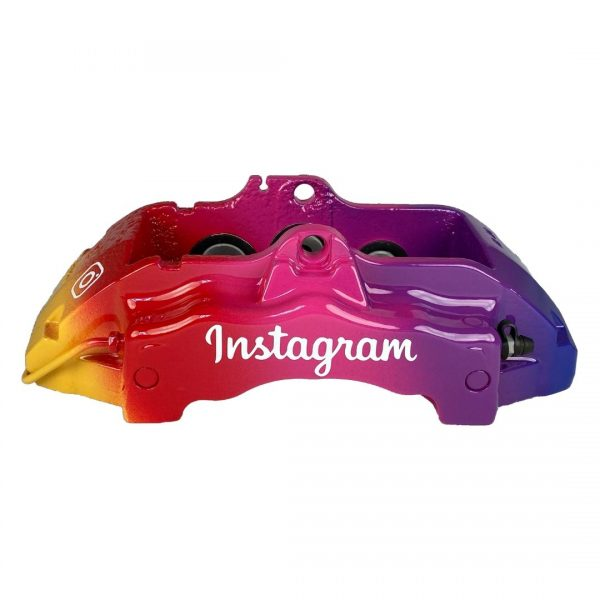 instagram colored brembo caliper