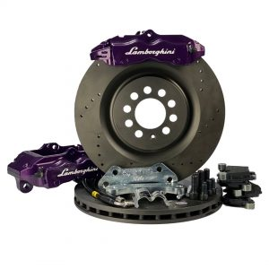 Big brake kit front VW Golf 4 Bora Beetle Polo 6R A3 8L TT Seat Leon (w refurbisched 4 pot calipers) Brembo