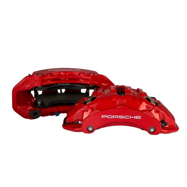 6 pot Brembo calipers left right compatible with most VAG cars