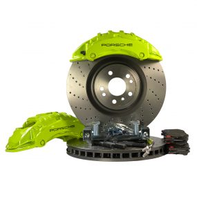 6 pots BBK big brake kit Golf 5 6 Brembo Porsche 375mm GTI R R32 (w refurbished calipers)