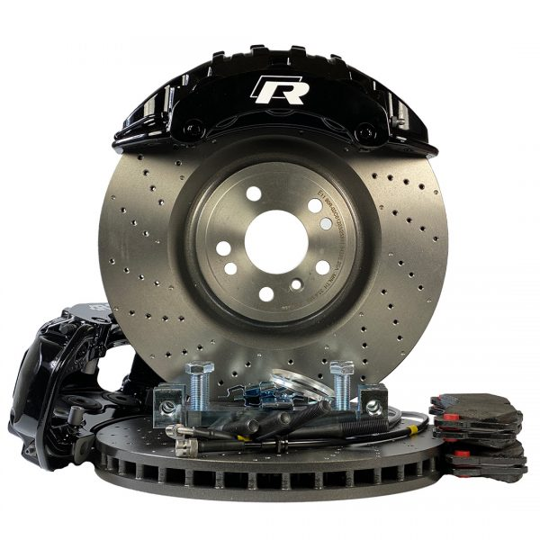 6 pots BBK big brake kit Golf 7, 7.5 Brembo Porsche 375mm GTI R