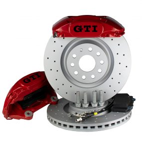 4 Pot BBK Big brake kit Golf 7 7.5 Mk7 Mk7.5 GTI R 340mm Brembo Porsche Macan